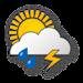 Nuvoloso, temporali con moderati rovesci