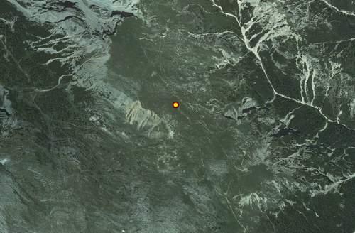 Carta tecnica: Stazione meteo Braies Alpe Cavallo