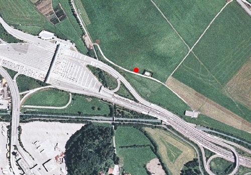 Luftbild: Wetterstation Sterzing