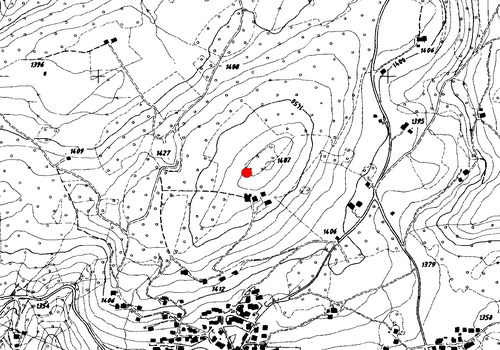Technische Karte: Wetterstation Deutschnofen