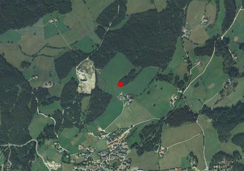 Luftbild: Wetterstation Deutschnofen