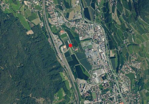 Luftbild: Wetterstation Brixen Vahrn