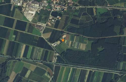 Aerofotografia: Stazione meteo Lasa - Oris