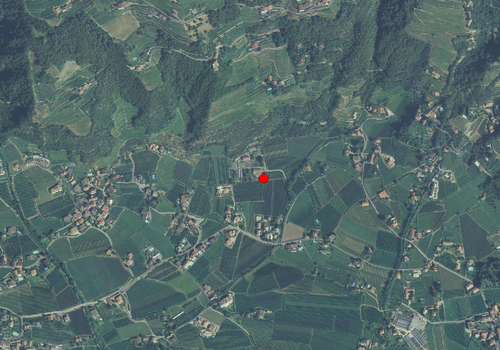 Luftbild: Wetterstation Meran