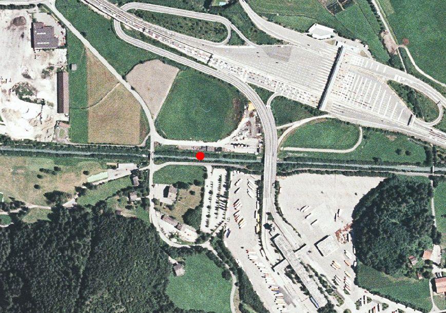 Technical map: Gauging station MAREITERBACH BEI STERZING
