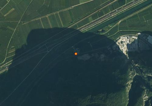 Luftbild: Wetterstation Salurn