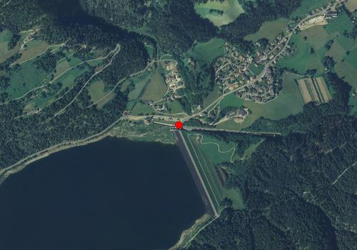 Luftbild: Wetterstation St. Walburg