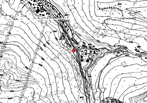 Technische Karte: Wetterstation Wolkenstein