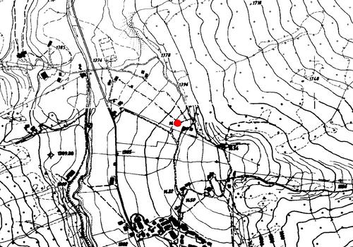 Technische Karte: Wetterstation Vals
