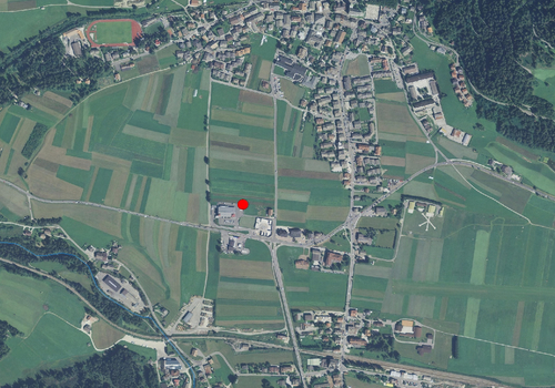 Luftbild: Wetterstation Toblach