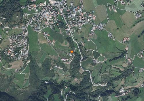 Luftbild: Wetterstation Völs am Schlern