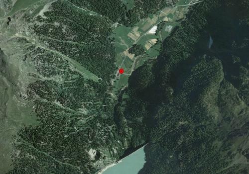 Aerofotografia: Stazione meteo Alta Val Martello