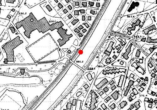 Technische Karte: Pegelstation EISACK BEI BRIXEN