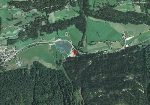 Aerofotografia: Stazione meteo Selva dei Molini