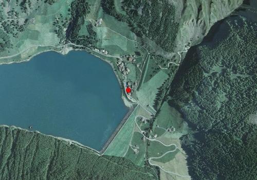 Luftbild: Wetterstation Schnals Vernagt