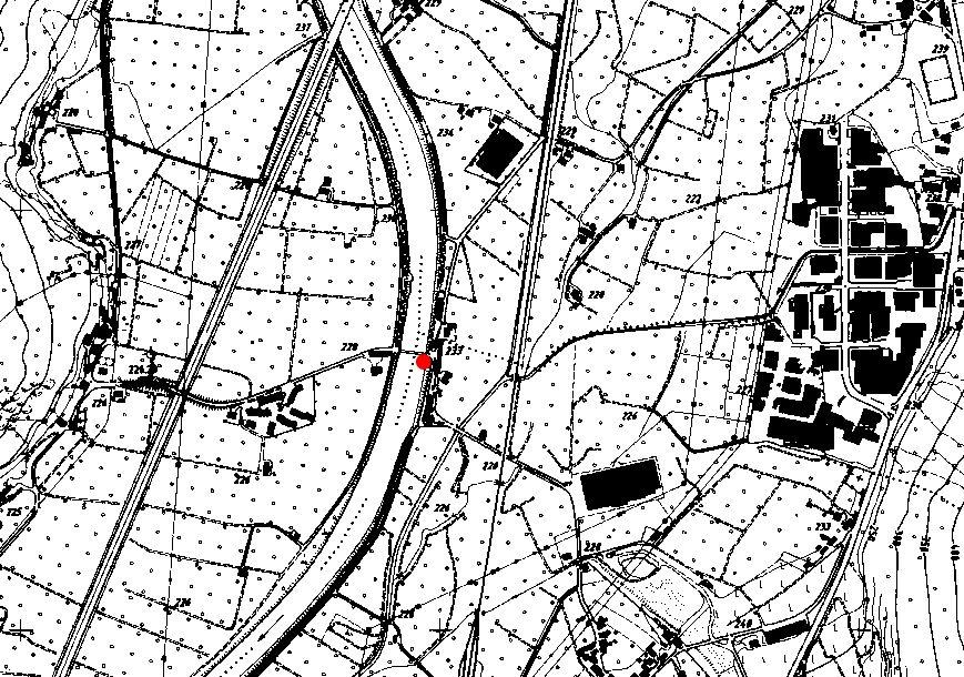Technische Karte: Pegelstation ETSCH BEI BRANZOLL