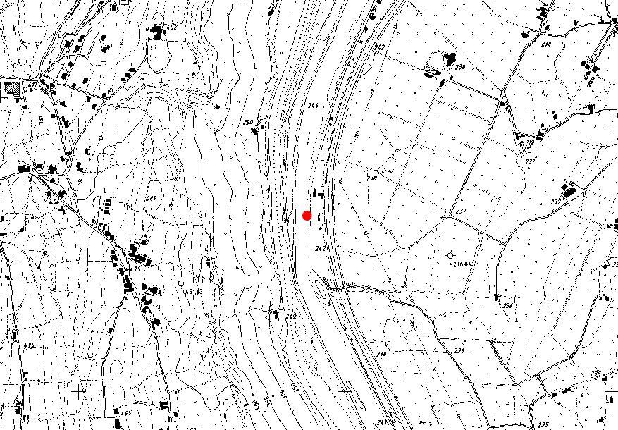 Technische Karte: Pegelstation EISACK BEI BOZEN SÜD