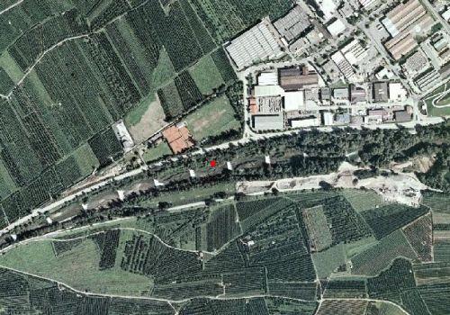 Carta tecnica: Stazione idrometrica VALSURA A LANA