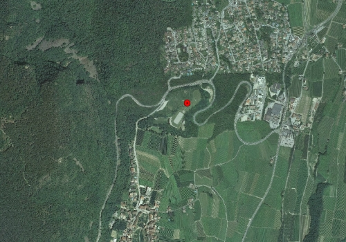 Luftbild: Wetterstation Kaltern Oberplanitzing