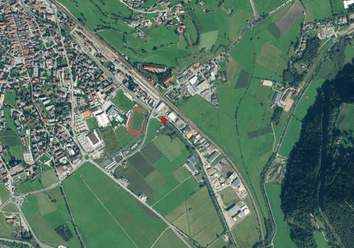 Technical map: Gauging station EISACK BEI STERZING