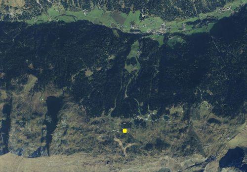 Carta tecnica: Stazione meteo Racines Malga Wasserfaller