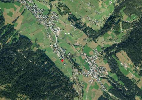 Luftbild: Wetterstation Sexten