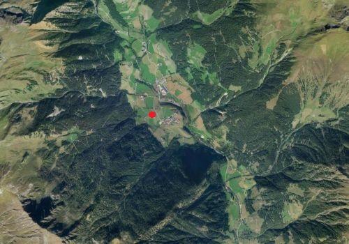 Aerofotografia: Stazione meteo Fundres