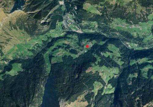 Luftbild: Wetterstation Platt in Passeier