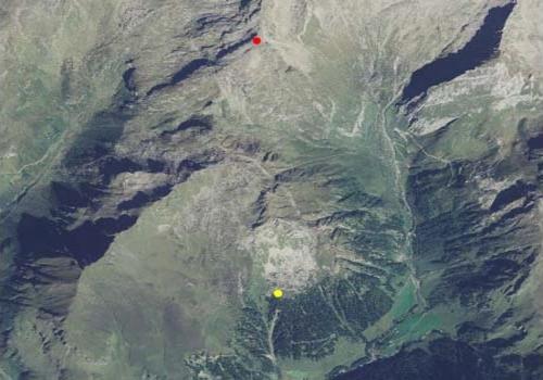 Carta tecnica: Stazione meteo Fundres Punta di Dan