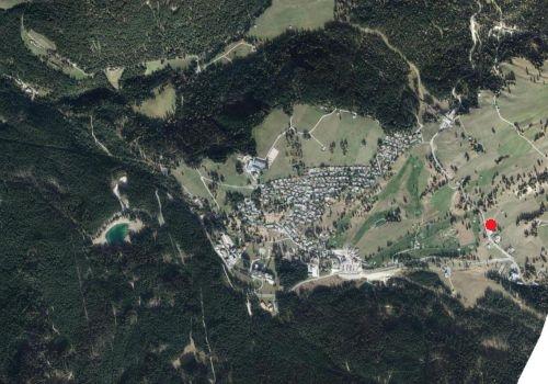 Luftbild: Wetterstation Karerpass