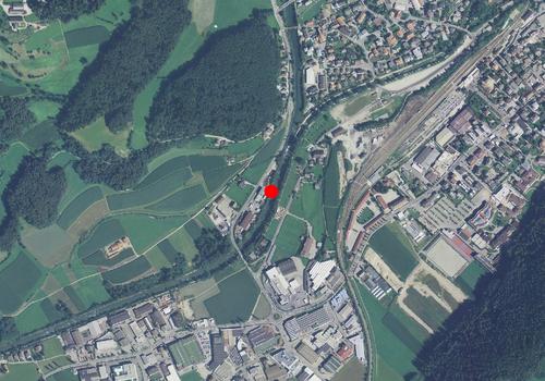 Carta tecnica: Stazione idrometrica RIENZA A STEGONA