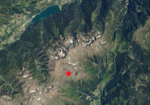 Technische Karte: Wetterstation Laurein Clozner Loch